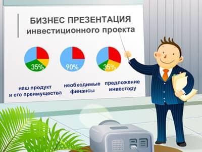 Инвестиционный проект презентация
