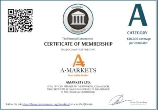 АМаркетс финансовая комиссия