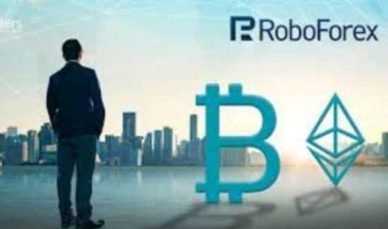 RoboForex биткоин