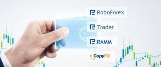 RoboForex типы счетов