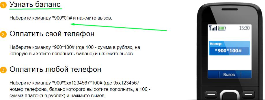 Баланс карты Сбербанка через запрос по телефону