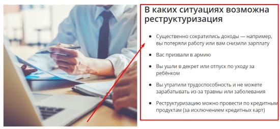 Кому положена реструктуризация ипотеки в Сбербанки