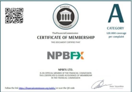 Брокер NBPFX