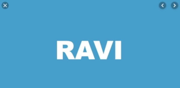 индикатор ravi